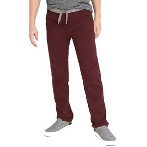 Old Navy Relaxed Rib-Knit Waist Built-In Flex Pant